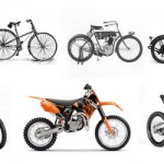 Off-Road Motorcycle and Free-Ride Bicycle Compared