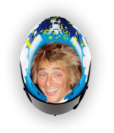 Valentino Rossi Helmet Design. customized face helmet.