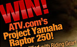 Fully Modified Yamaha ATV Giveaway is Easy and Educational!