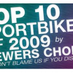 Top 10 Best Sportbikes of 2009