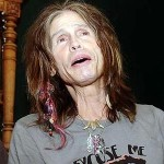 Aerosmith's Steven Tyler Falls off the Stage at Sturgis