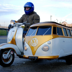 The VW Motorcycle Sidecar