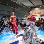 Chinese Motorcycle Show: Babes and Bikes