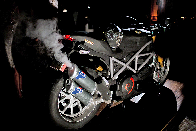 Smoking Hot Bike