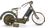 Example of First Production Motorcycle Up for Auction