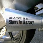 ZX-10R Owner Modifies His Bike, Making his Own Exhaust and Cutting Holes in the Frame