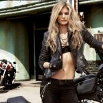 Marisa Miller and Harley-Davidson Team-Up Again