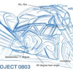 2011 Ducati Mega Monster Leaked Sketch