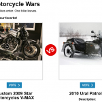Battle of the Motorcycles!
