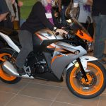 2011 Honda CBR125R Makes Canadian Debut
