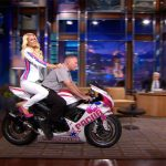Paris Hilton Talks About Her Race Team on Tonight Show with Jay Leno
