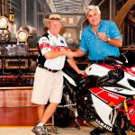 Kenny Roberts and Jay Leno to Auction Yamaha 50th Anniversary R1