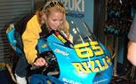 Elena Myers to Ride Suzuki GSV-R MotoGP Bike at Indianapolis Motor Speedway