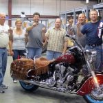First Polaris-era 2012 Indian Motorcycle Rolls Off Spirit Lake Assembly Line