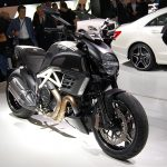 Ducati Diavel AMG Special Edition Live at the 2011 Frankfurt Auto Show