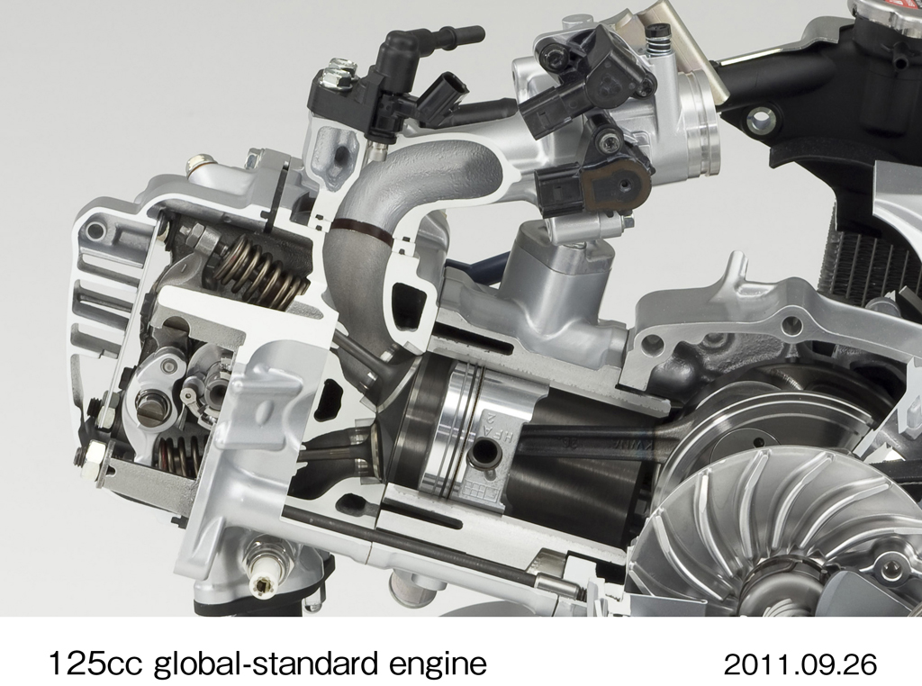 honda announces new 125cc scooter engine with idle stop motorcycle Honda Motorcycle Engine Diagram honda announces new 125cc scooter engine with idle stop motorcycle com news