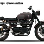 Roland Sands Designs Triumph Scrambler For Charity Auction