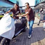 Chinese Piaggio MP3 Knockoff Seized From EICMA Floor for Copyright Infringement