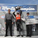 Harley's Ed Krawiec is 2011 NHRA Pro Stock Motorcycle Champ
