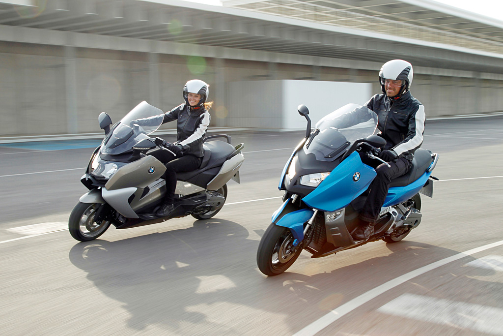 2012 BMW C600 Sport and C650GT Scooters