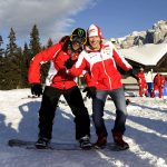 Valentino Rossi and Nicky Hayden Frolicking in the Snow [Video]