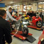 2012 Ducati 1199 Panigale Enters Production
