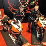 Aprilia Introducess 2012 World Superbike Team of Biaggi, Laverty and the RSV4