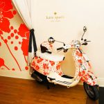 Vespa and kate spade new york Giving Away Custom Vespa LX 50 Scooters