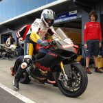Effenbert-Liberty Racing Tests Ducati 1199 Panigale Superstock Race Bike