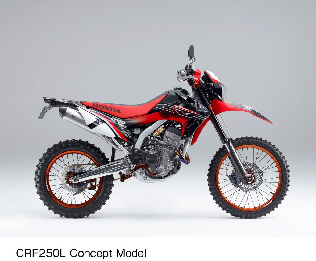 2012 honda crf250l announced for europe but not for america yet news. Black Bedroom Furniture Sets. Home Design Ideas