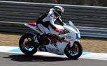 McGuinness Tests Mugen Shinden Electric Race Bike
