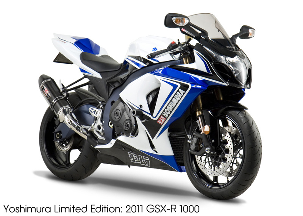 yoshimura offering limited edition suzuki gsx r sportbikes. Black Bedroom Furniture Sets. Home Design Ideas