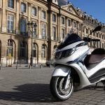 2012 Piaggio X10 Maxi-Scooter with ABS, Traction Control and Electronic Suspension