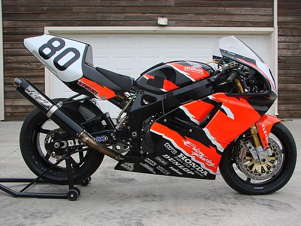 CBR900RR right side