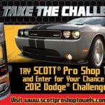 Win a 2012 Dodge Challenger SRT