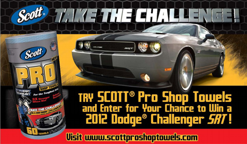 Take The Challenge Sweepstakes