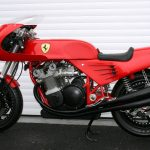 One-Off Ferrari Tribute Motorcycle Sold for $137,700