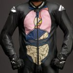 "Alpinestars Death Spray Custom Anatomy Suit Redefines the Phrase ""Organ Donors"""