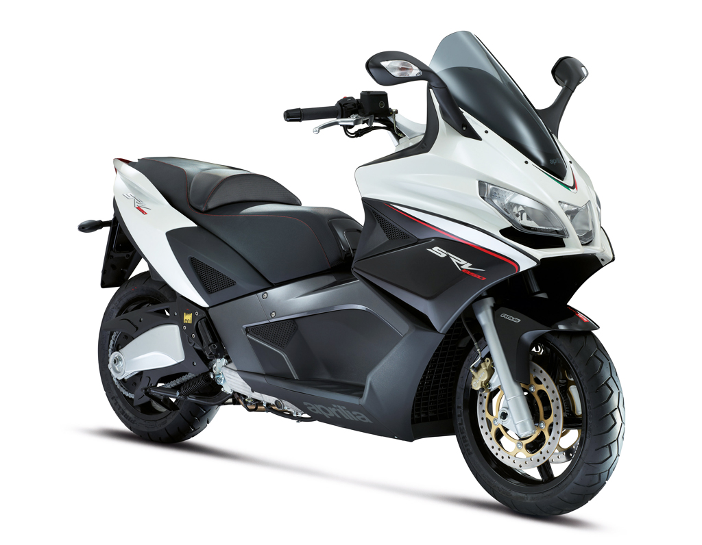 aprilia srv850 maxi scooter gets optional abs and traction control news. Black Bedroom Furniture Sets. Home Design Ideas