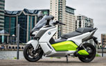 "BMW Unveils ""Near-Production"" C Evolution Electric Scooter Prototype"