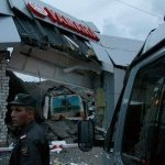 Runaway Bus Crashes Into Russian Yamaha Dealership
