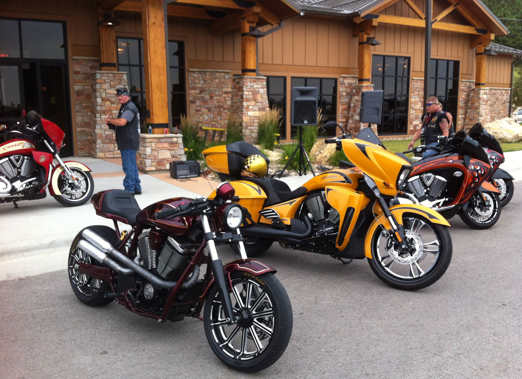 Victory Owners Ride Ness Family