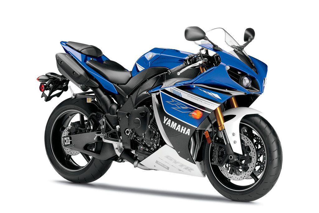 yamaha r1 blue bike - photo #12