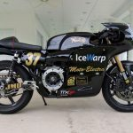Moto Electra Equips Electric Norton Race Bike with iPad Console