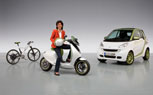 Daimler to Team with Vectrix to Produce Smart eScooter for 2014