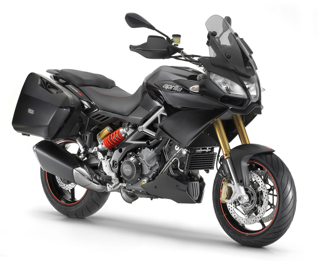 2013-Aprilia-Caponord-1200-Black-Front-Right
