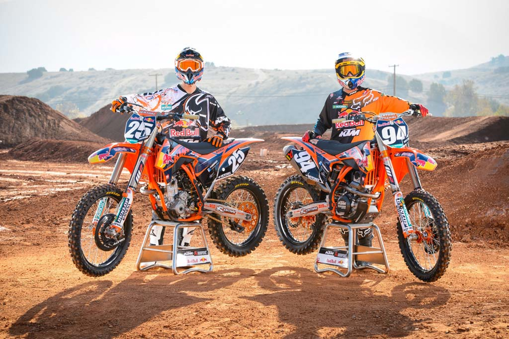 Red Bull KTM 2013 AMA Supercross and Motocross Photo Shoot ...