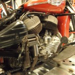 Fluids are removed from each vehicle that enters the H-D museum, but otherwise the WLD is still in running condition.