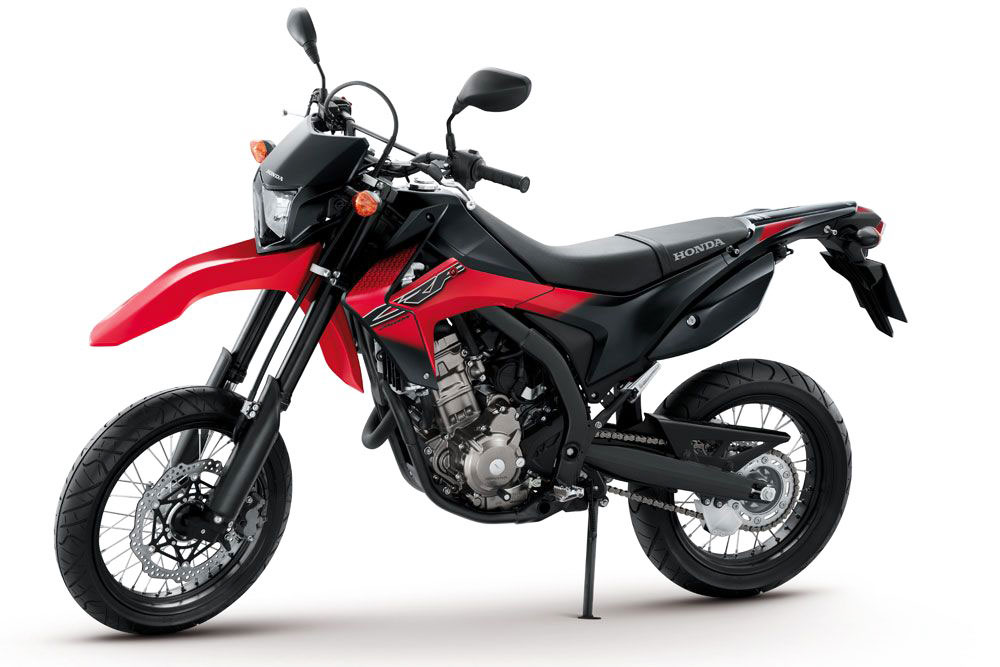 2013 Honda CRF250M Launched in Thailand – The Supermoto Version of