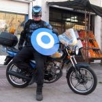 Real Life Superhero Patrols Argentine Streets, Fights Crime on a Bajaj Pulsar 200
